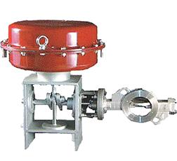 Diaphragm butterfly valve